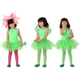 Disfraz para niñas de Bailarina Verde