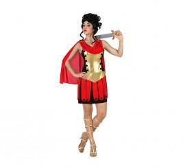 Disfraz para mujer de Guerrera Romana