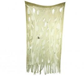 Cortina Arañas de 120x200 cm para decorar en Halloween