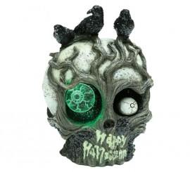 Cerebro con luz de 22 cm para decorar en Halloween