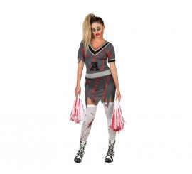 Disfraz para mujer Animadora Muerta para Halloween
