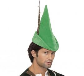 Sombrero de Robin Hood con Pluma