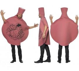 Disfraz de Cojín Tirapedos para adulto talla Universal