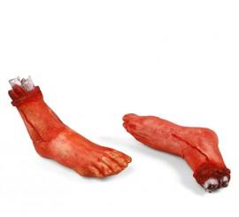 Pie Amputado de 24 cm para Halloween