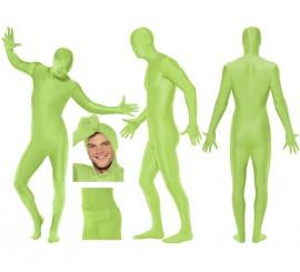 Mono segunda piel de color verde