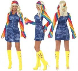 Disfraz Disco Juerguista para Mujer