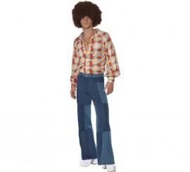 Disfraz Disco Retro de los años 70 para Hombre