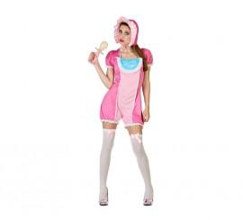 Disfraz de Chica Bebé rosa para mujer
