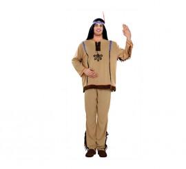 Disfraz de Indio talla M-L para hombre