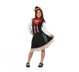 Disfraz para niñas de Mariachi