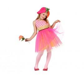 Disfraz de Flor con tutú para niñas