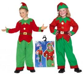 Disfraz de Elfo o Elfa para Niños