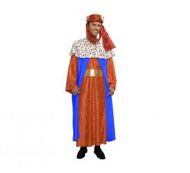 Disfraz o traje de Rey Mago Baltasar de hombre talla M-L