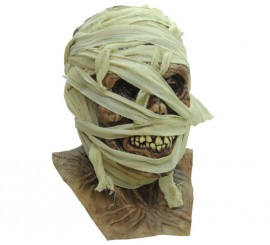 Máscara Mummified Momia para Halloween