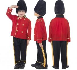 Disfraz Guardia Real Inglesa para Niño