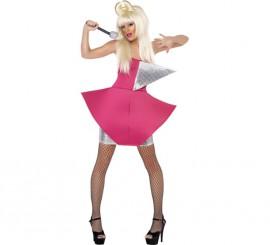 Disfraz Cantante Reina del Pop para mujer