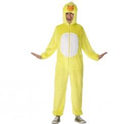Disfraz de Pato Amarillo para Hombres talla L