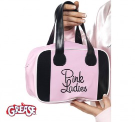 Bolso Pink Lady de Grease rosa con logo