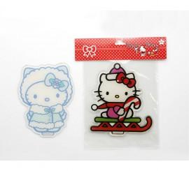 Pegatina gel gigante 25x25 cm. Hello Kitty