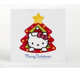 Pegatina decoración ventana 10 cm. Hello Kitty
