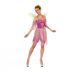 Disfraz de Hada Púrpura para mujer talla M-L