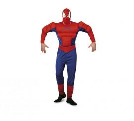 Disfraz del Hombre Araña musculoso para hombre