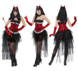 Disfraz de Diva Demoníaca para Mujer