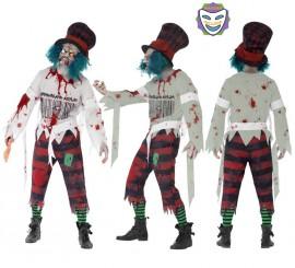 Disfraz Sombrerero Loco Zombie para hombre