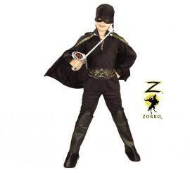 Disfraz del Zorro en caja con ACC.