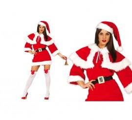 Disfraz de Mamá Noel de Lujo para mujer para Navidad