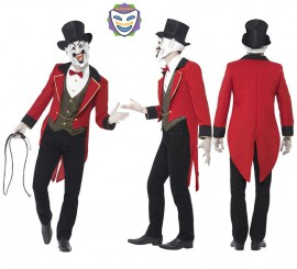 Disfraz de Siniestro Director de Circo para Hombre