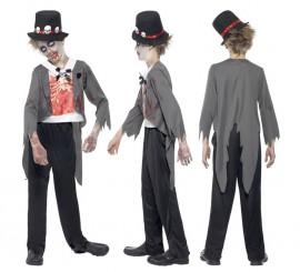 Disfraz Novio Zombie para Niños