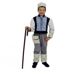 Disfraz para niños de Pastor Azul Moderno Deluxe exclusivo de Disfrazzes