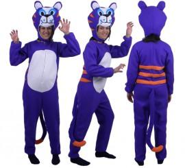 Disfraz de Puma Alegre morado para adultos