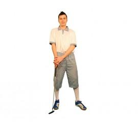 Disfraz de Jugador de Golf para hombre talla M-L