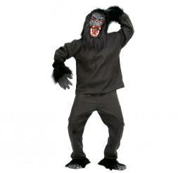 Disfraz de Gorila negro para adulto en Carnaval