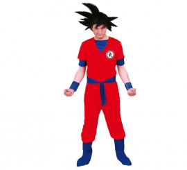 Disfraz de Guerrero Luchador para hombre adulto
