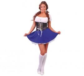 Disfraz de Tirolesa para mujer talla XS-S