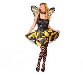 Disfraz de Mariposa con alas para mujer talla 38/40