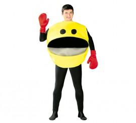 Disfraz de Comilón Comecocos para adultos