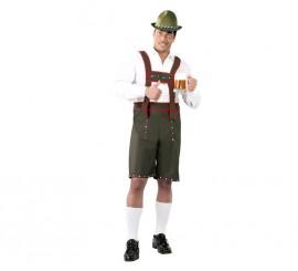 Disfraz para hombre de Tirolés verde