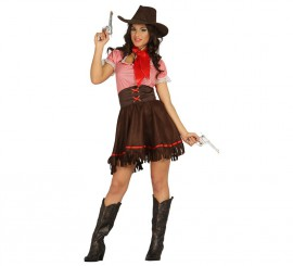 Disfraz de Cowgirl o Vaquera para Mujer