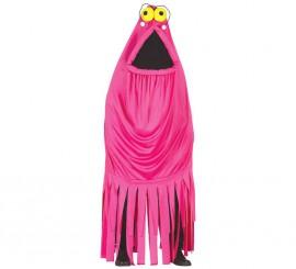 Disfraz de Monstruo Fucsia Yip Yip para Adultos