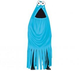 Disfraz de Monstruo Azul Yip Yip para Adultos
