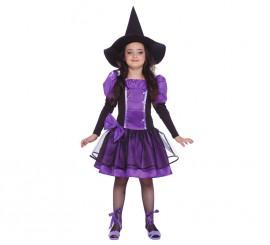 Disfraz de Bruja para Halloween Morada