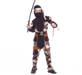 Disfraz para niños de Ninja Comando