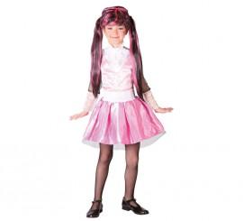 Disfraz de Pink Monster para niñas