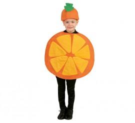 Disfraz de Fruta Naranja para niños