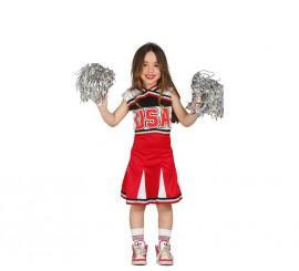 Disfraz de Animadora USA para Niñas