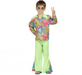 Disfraz de Hippie Boy para Niños